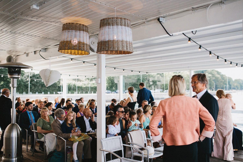 Eine Hochzeit mit freier Trauung in der Seebar in Düsternbrook